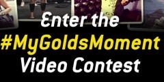 My Golds Moment Video Contest