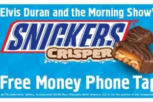 Free money phone tap elvis duran