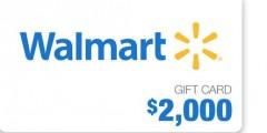 Ellen $2,000 Walmart Gift Card Giveaway