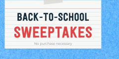 Club Tyson Back to School Sweepstakes