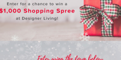 Designer Living Holiday Sweepstakes
