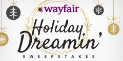 Wayfair Holiday Dreamin' Sweepstakes