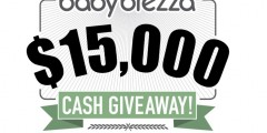 Baby Brezza $15,000 Cash Giveaway