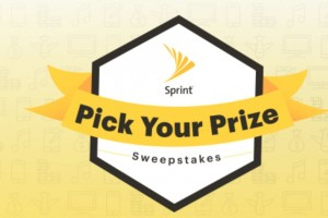 Sprint Pick Your Prize Sweepstakes