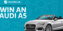 Silvercar 2018 Audi A5 Cabriolet Sweepstakes