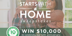 "BHG ""Starts with a Home"" Sweepstakes"