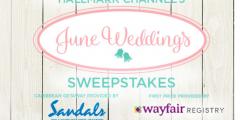 Hallmark Channel's June Wedding Sweepstakes