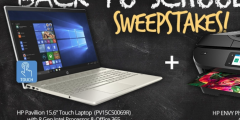 Conn's HomePlus Back to School with HP Sweepstakes