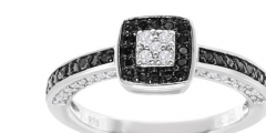 SuperJeweler Black Diamond Engagement Ring Giveaway