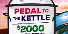 Pedal to the Kettle Sweepstake