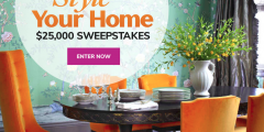 Martha Stewart Style Your Home $25,000 Sweepstakes