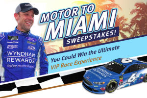 The Wyndham Rewards Motor to Miami Sweepstakes