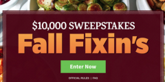 AllRecipes The $10,000 Sweepstakes