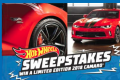 Hot Wheels Chevy Camaro Sweepstakes
