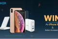 Apple iPhone XS and Anker Accessories Sweepstakes