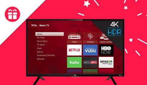 Ellen TCL Roku TV Giveaway