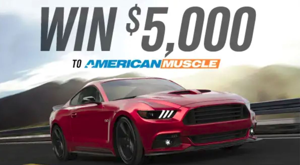 americanmuscle giveaway american muscle mmd 5 000 giveaway 1700