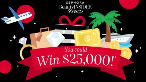 Sephora Beauty Insider 2020 Sweepstakes