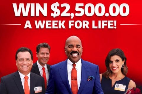 PCH $2,500 Week For A Life Sweepstakes