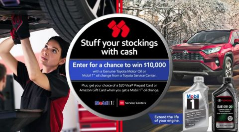 Mobil 1 & Toyota Service Center Sweepstakes