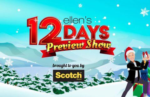 Ellen's 12 Days of Giveaways 2019