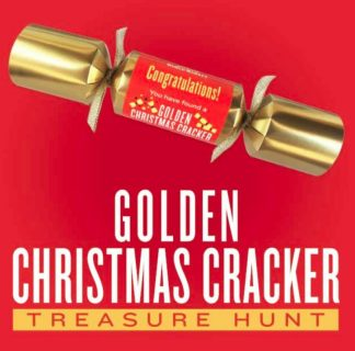Golden Christmas Cracker Treasure Hunt Sweepstakes