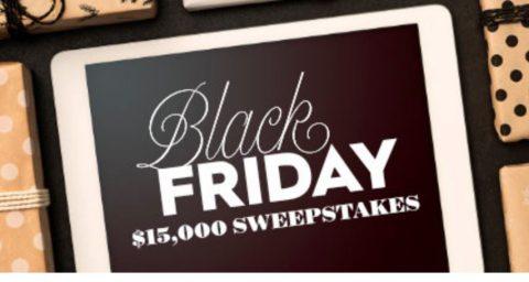 BHG $15,000 Black Friday Sweepstakes