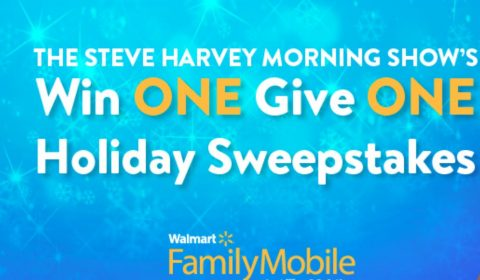 Steve Harvey Morning Show's Holiday Sweepstakes