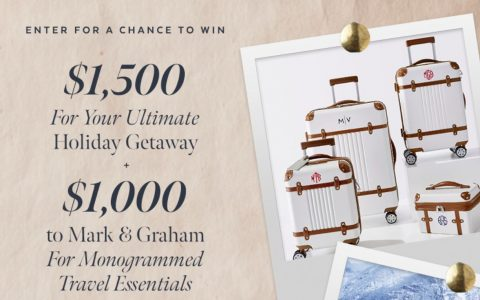 PopSugar Ultimate Holiday Getaway Sweepstakes