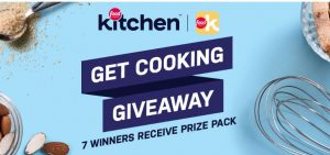 Food Network Kitchen Get Cooking Giveaway