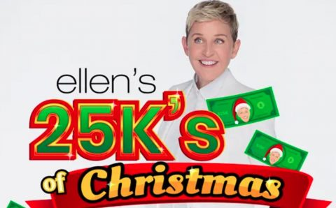 Ellen $25K of Christmas Sweepstakes