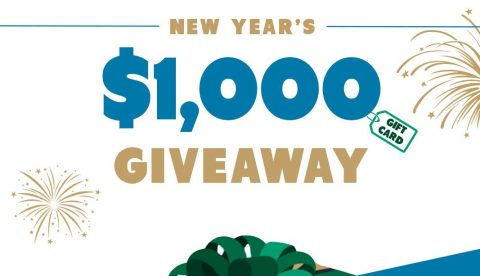 Financer $1,000 New Year's Giveaway