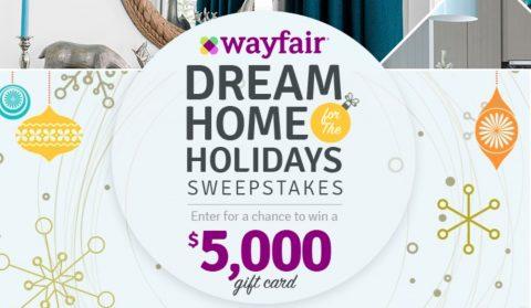 HGTV Wayfair's Dream Home For The Holidays Sweepstakes