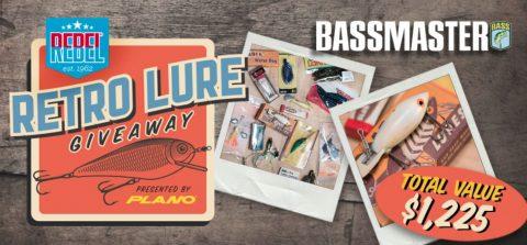 Bassmaster Rebel Retro Lure Giveaway