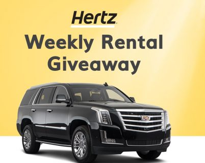Hertz Weekly Rental Giveaway