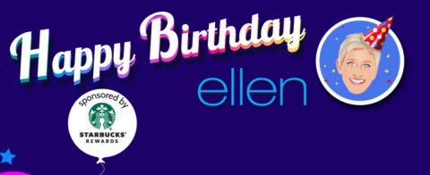 Ellen's Birthday Giveaway