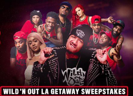 MTV Wild 'N Out LA Getaway Giveaway