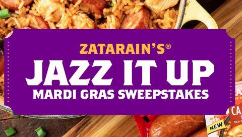 Zatarain's Jazz It Up Sweepstakes