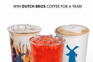 Dutch Bros Coffee Coffee for a Year Giveaway