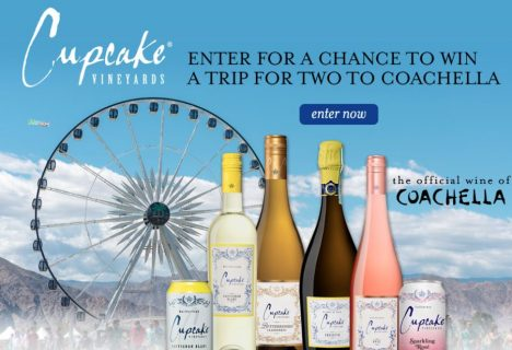 Cupcake Vineyards Coachella Sweepstakes