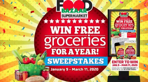 Food Bazaar Free Groceries For A Year Sweepstakes