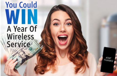 AT&T Win Wireless for A Year Sweepstakes
