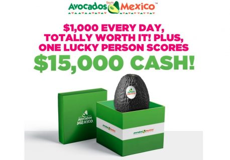 Avocados From Mexico Big Game Sweepstakes