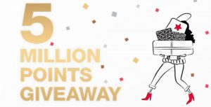Macy's Star Rewards Five Million Points Giveaway
