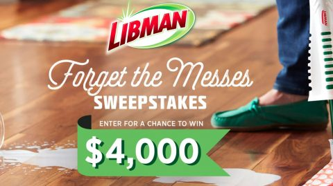 HGTV Forget the Messes Sweepstakes