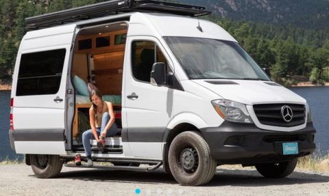Omaze Mercedes-Benz 4x4 Sprinter Van Sweepstakes