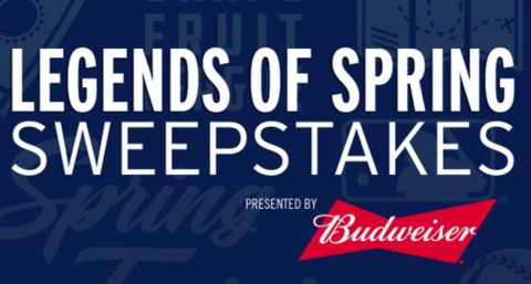 Budweiser Legends of Spring Sweepstakes