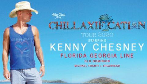 SiriusXM Kenny Chesney Chillaxification Tour Sweepstakes