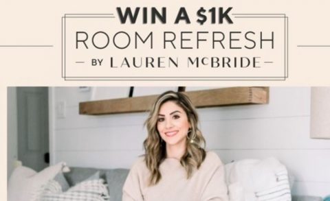 QVC 1K Room Refresh by Lauren McBride Sweepstakes