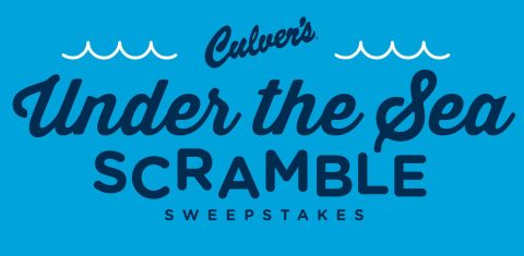 Culver's Under The Sea Scramble Sweepstakes